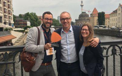 And the Zalando 2018 Change Management Award goes to AdHoc Translations…